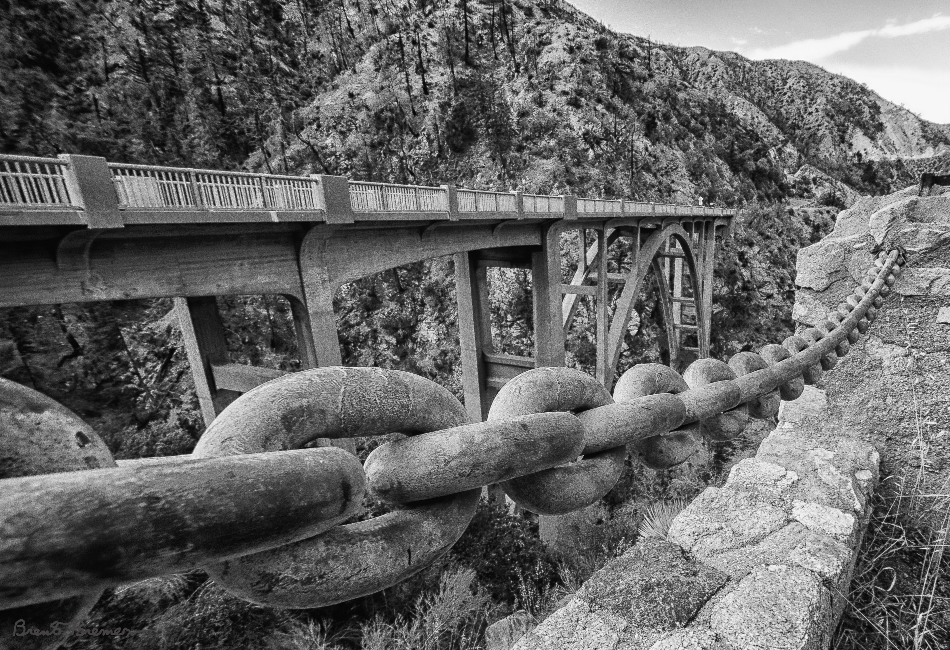 Big Tujunga Canyon Bridge - Brent Bremer