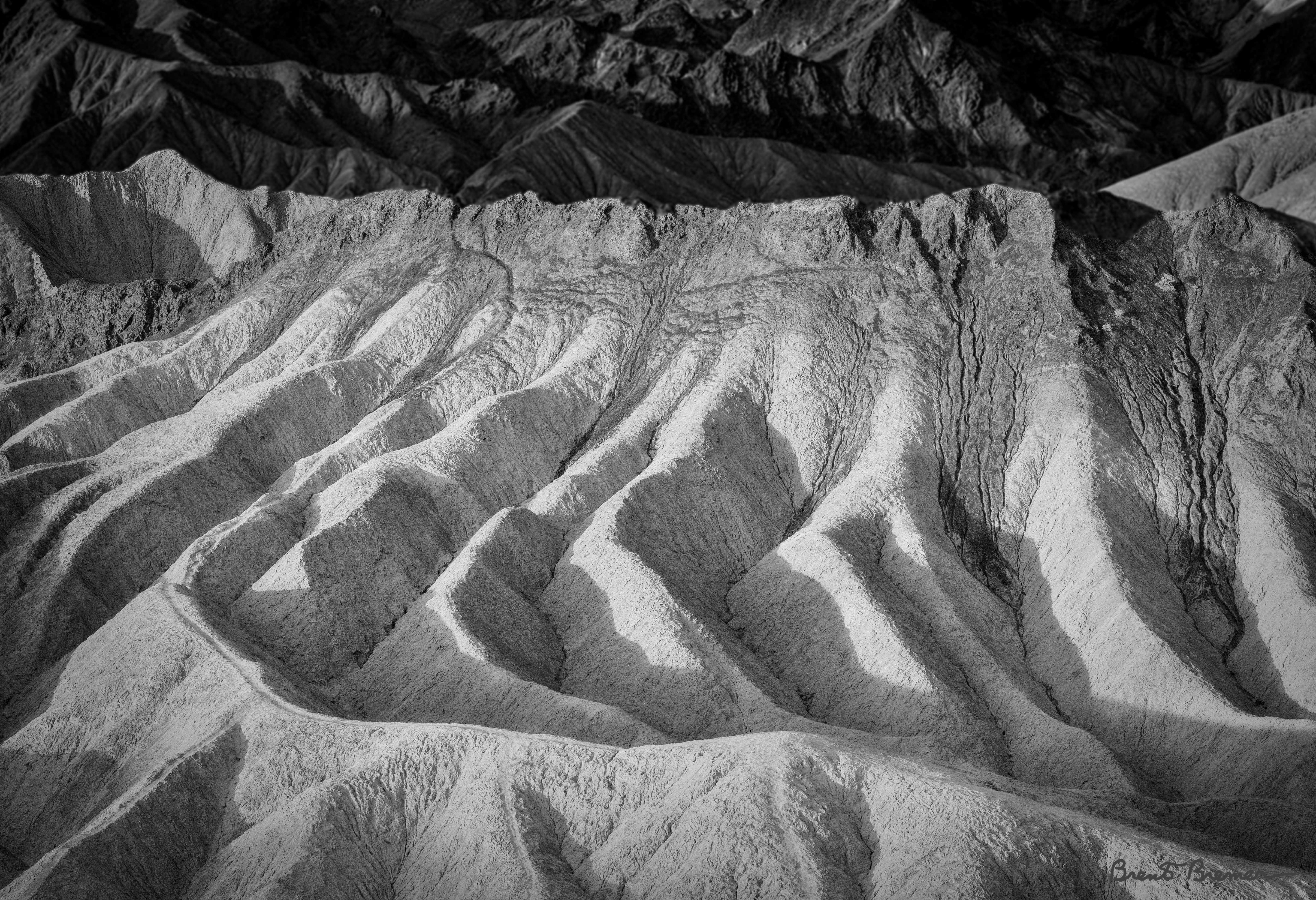 Zabriskie Point Closeup - Brent Bremer