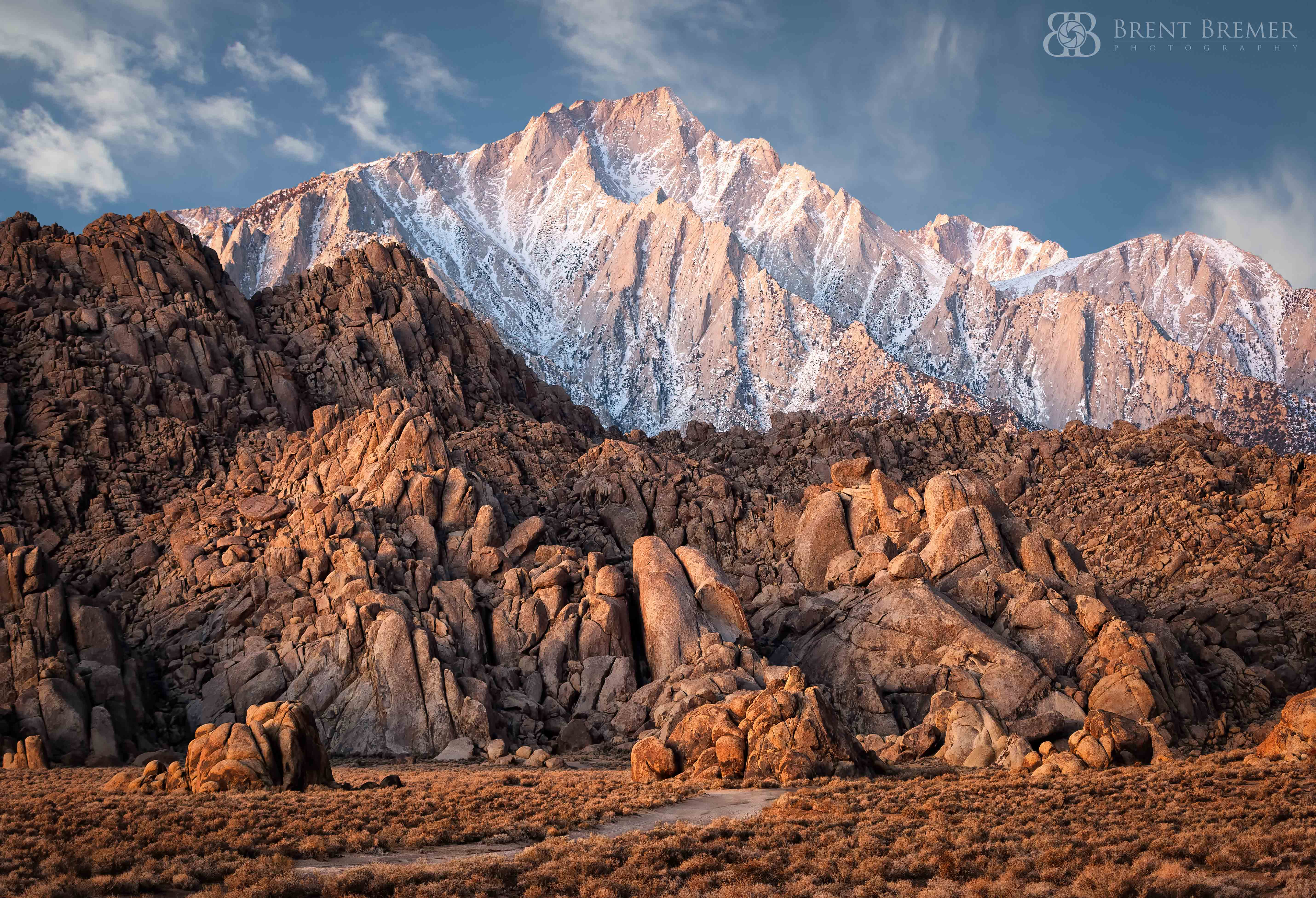 Alabama Hills Golden Hour