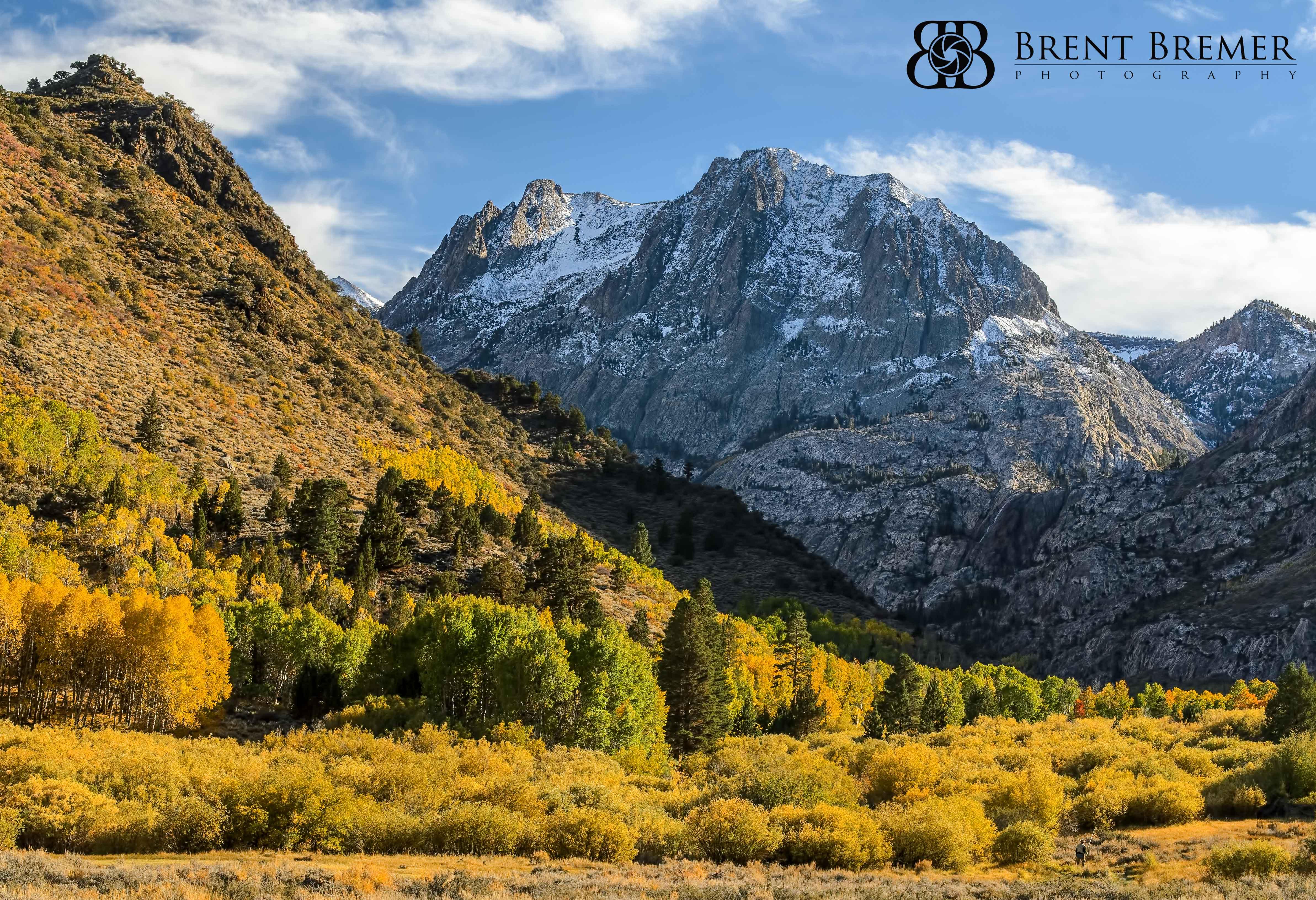 Eastern Sierra Secenery