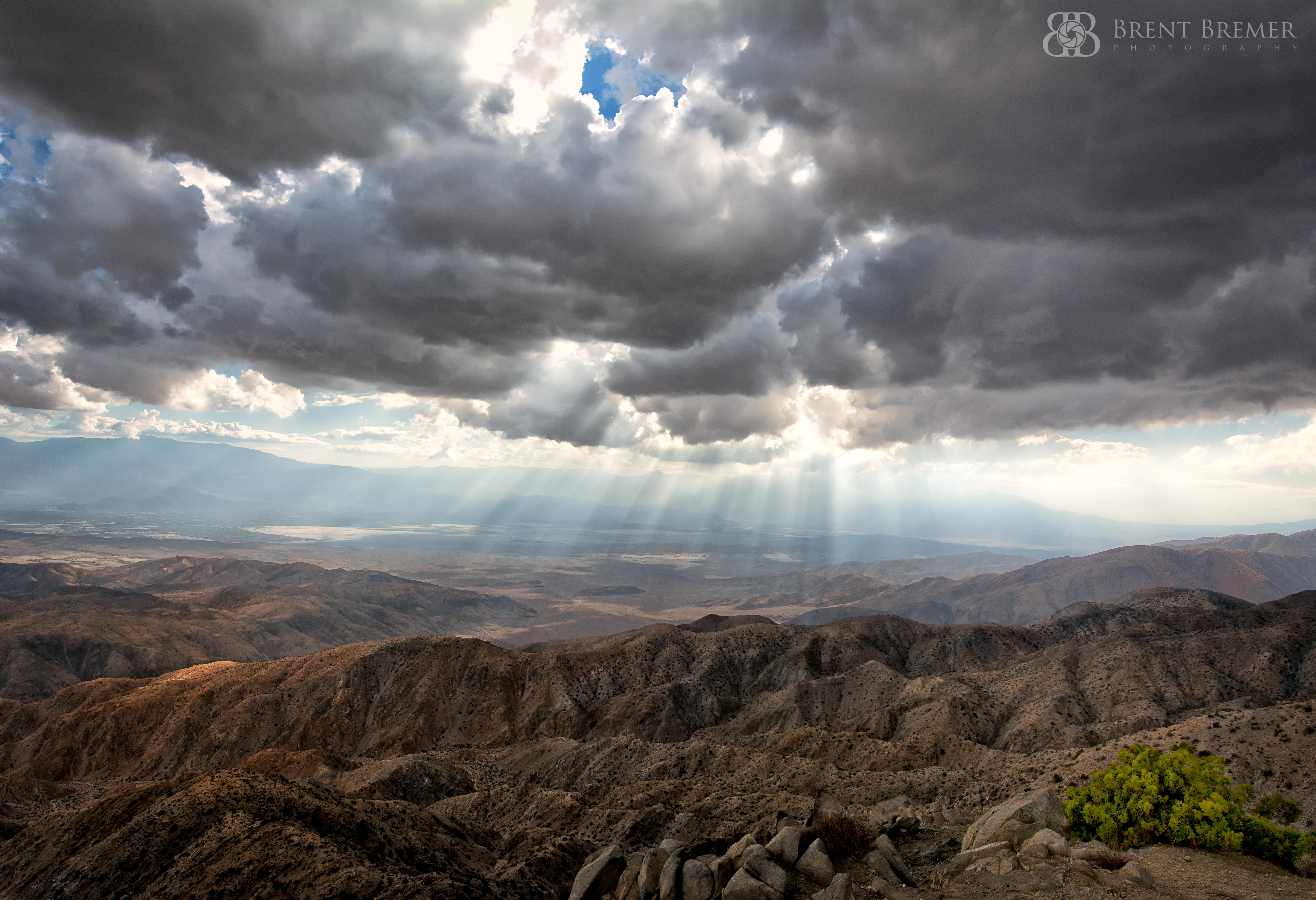 Keys View Rays of Light