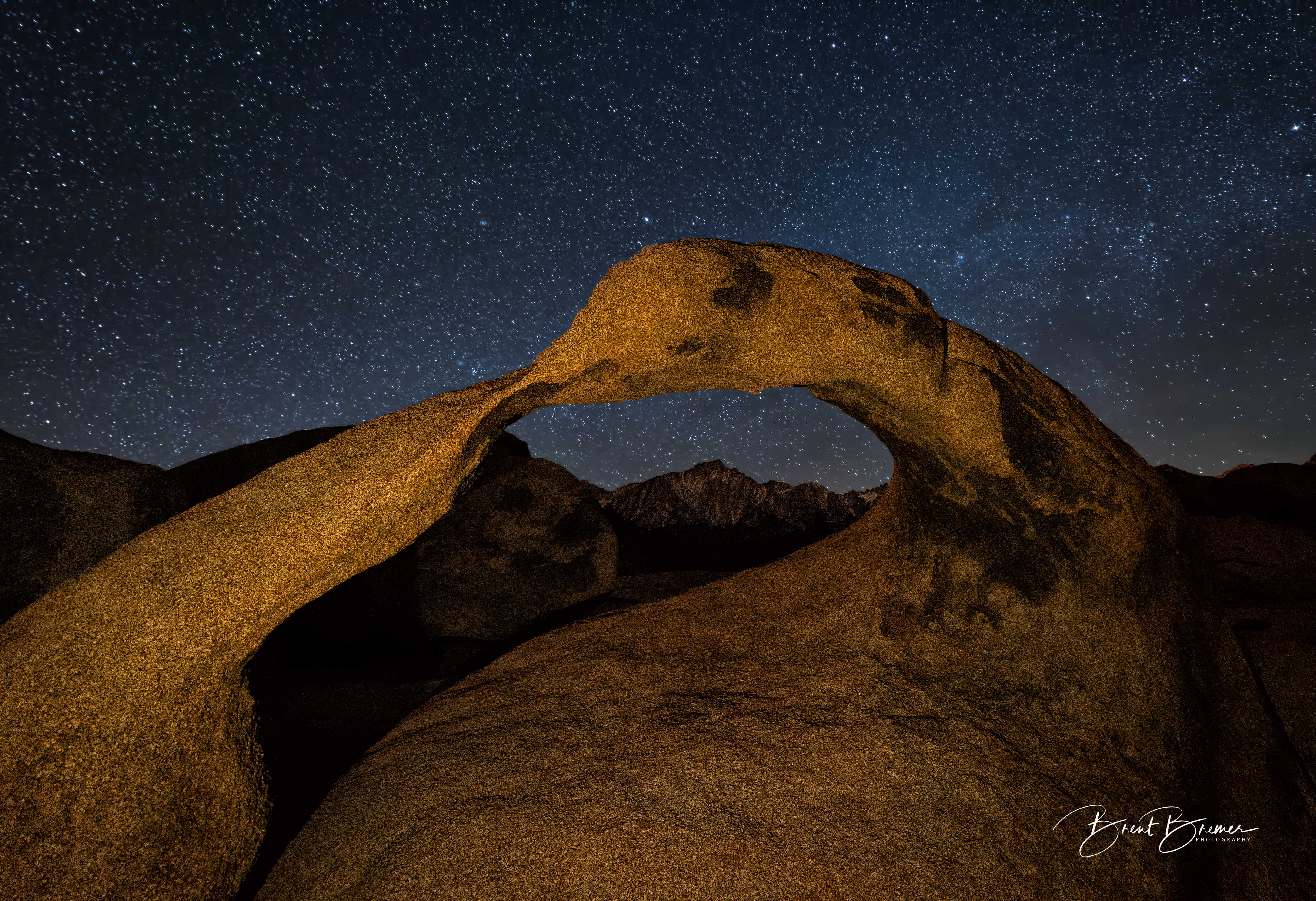 Mobius Arch Stars