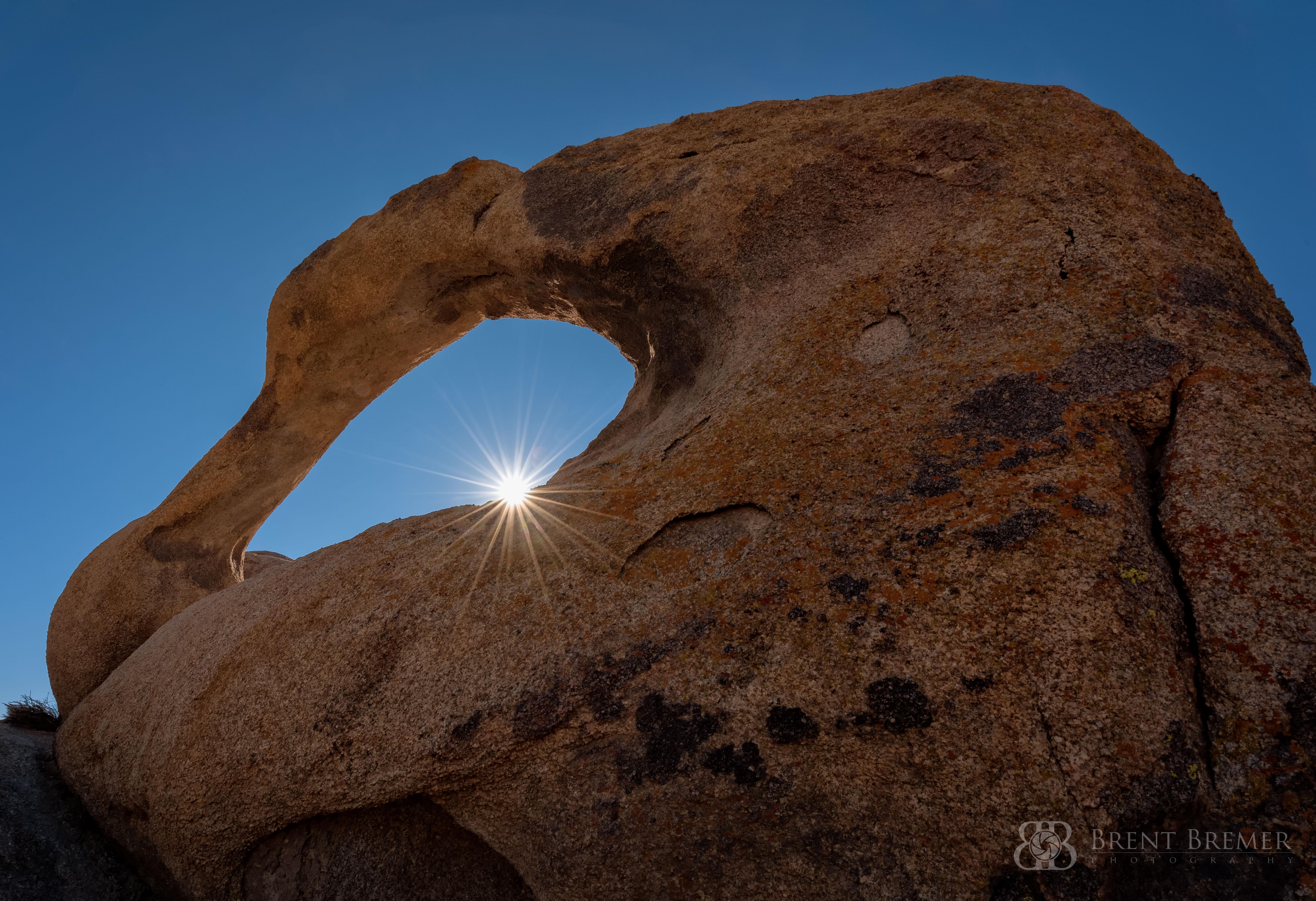 Mobius Arch Sunburst