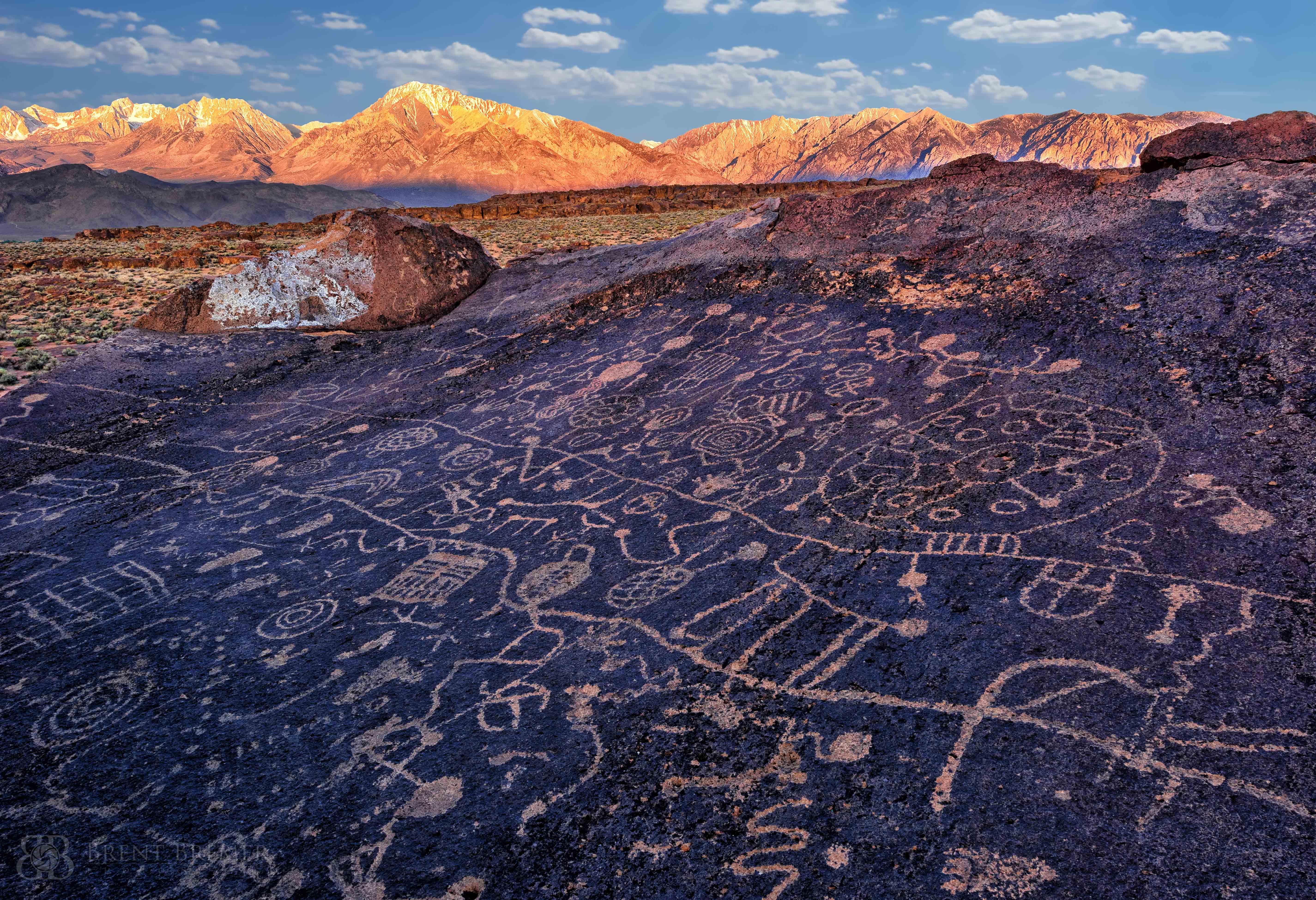 Petroglyph Sunrise