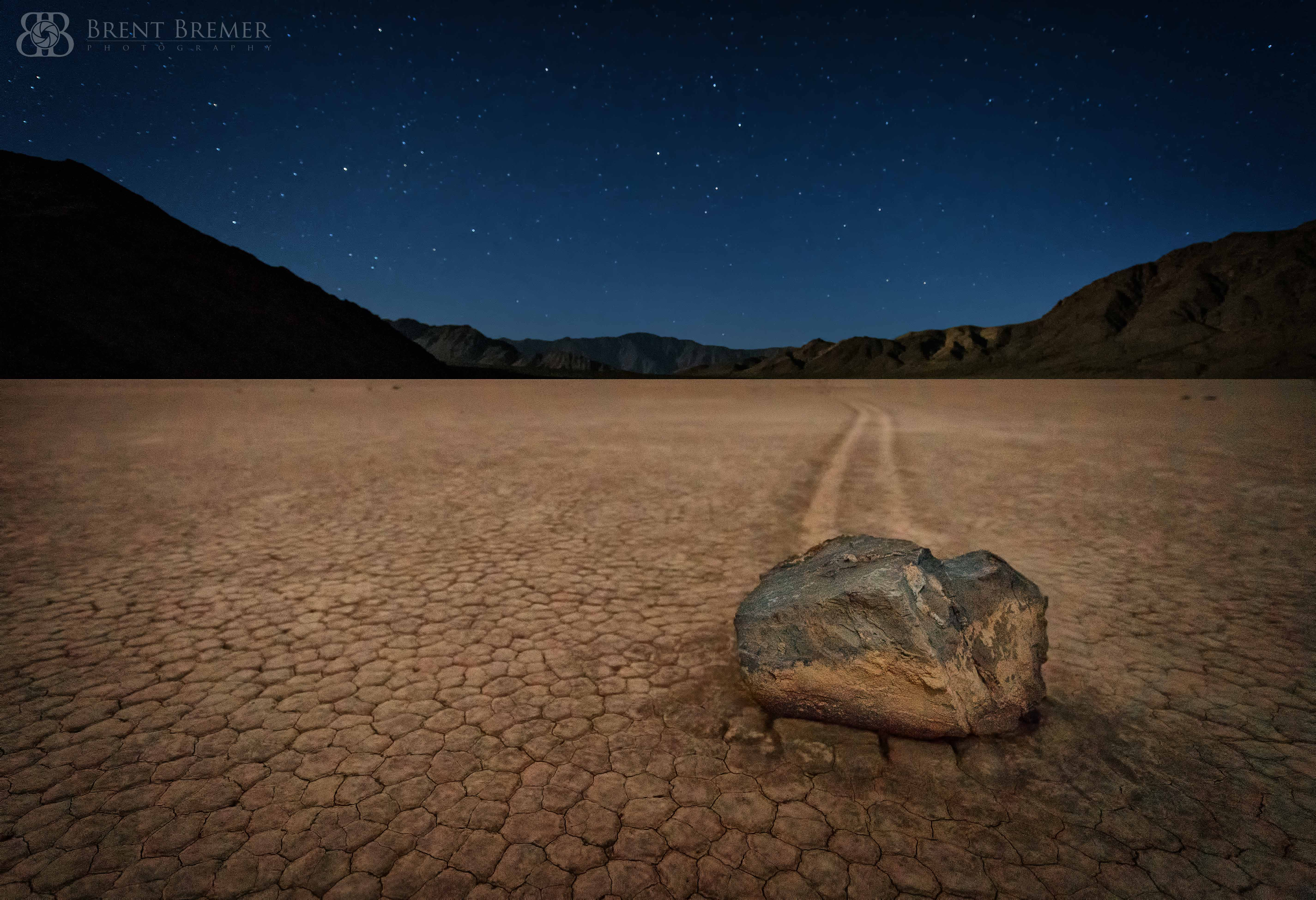 Racetrack Playa Night