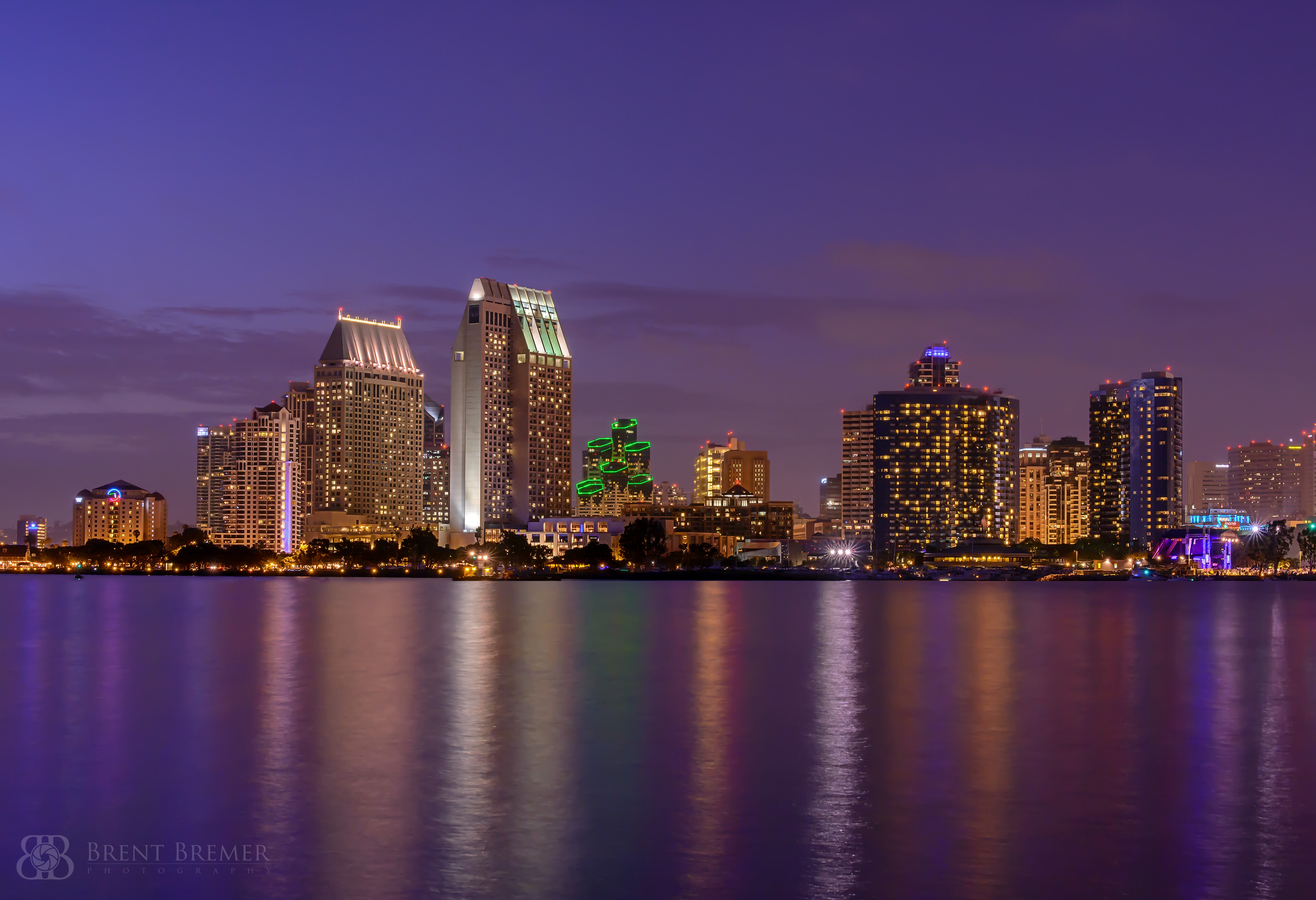 San Diego Blue Hour