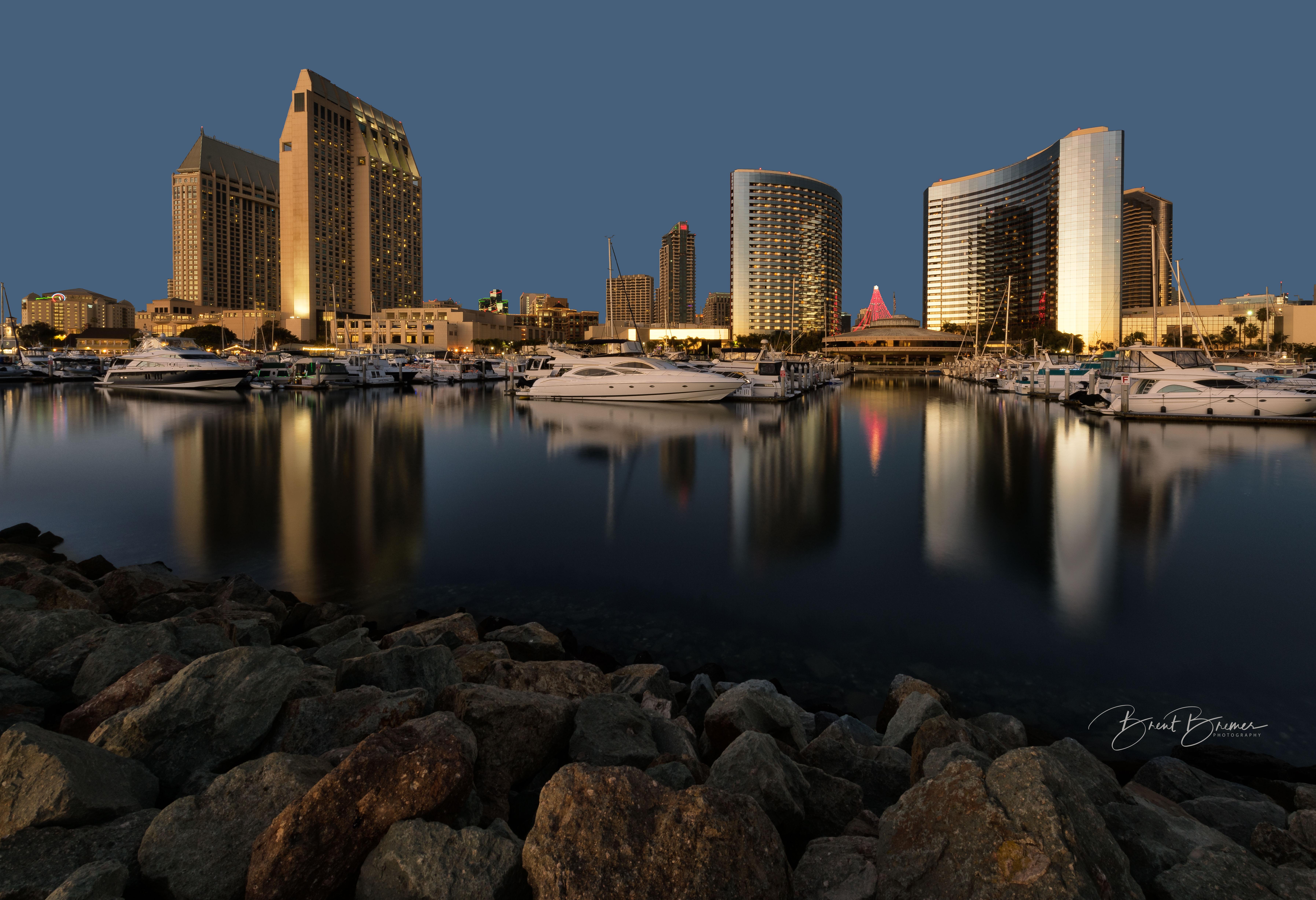 San Diego Embarcadero Dusk