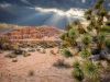 Red Rock Canyon Rays of Light