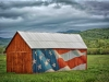 Utah US Flag Barn