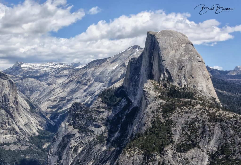 Half Dome Closeup