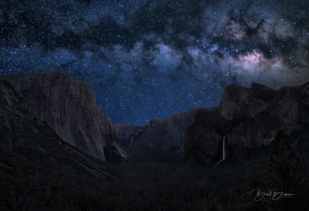 Tunnel View Milky Way